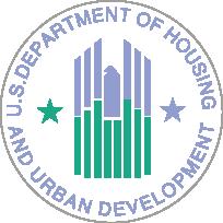 Dpto. de Vivienda y Desarrollo Urbano de los EE.UU. logo