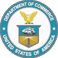Departamento de Comercio de los Estados Unidos logo